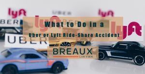 Uber or Lyft Ride Share Accident