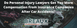 Personal Injury Lawyers Help After Car Accidents
